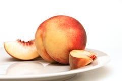 Сочный персик Стоковые Изображения RF