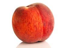 сочный персик Стоковая Фотография
