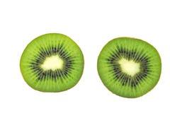 Сочный плодоовощ кивиа изолированный на белой предпосылке Стоковое Изображение RF