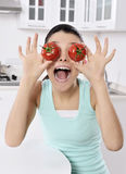 сочный томат стоковые фото