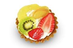Сочный торт плодоовощей Стоковое фото RF
