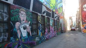 Союзник граффити Стоковые Изображения