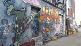 Союзник граффити Стоковые Изображения RF