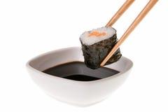 соя соуса makizushi Стоковые Изображения RF