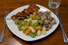 Соя-Medailions Vegan Стоковые Фото