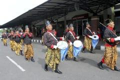 Солдаты дворца прошли парадом Стоковое Изображение RF
