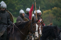 Солдаты готовые для сражения Стоковые Фотографии RF