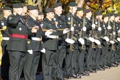 Солдаты канадцев Стоковая Фотография