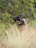 Солдаты ратников конкуренции спорт дилетанта стоковое фото rf