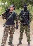 Солдаты ратников конкуренции спорт дилетанта стоковые фото
