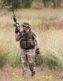 Солдаты ратников конкуренции спорт дилетанта стоковая фотография rf
