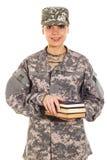 Солдат в военной форме Стоковое Фото