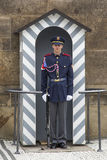 Солдат в фронте Стоковое фото RF