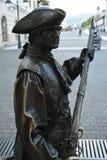 Солдат на стробах на Alba Iulia Стоковая Фотография RF