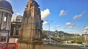 Солдат статуи Стоковое фото RF