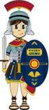Солдат центуриона шаржа римский Стоковые Фото