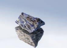 Содалит-камень смелости Стоковое фото RF