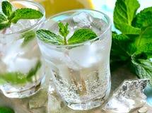 Сода мяты и лимона стоковая фотография