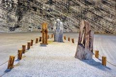 Солевой рудник Стоковые Фото