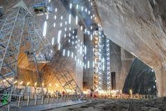Солевой рудник Стоковые Изображения RF