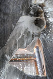 Солевой рудник Стоковая Фотография RF