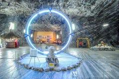 Солевой рудник Стоковое Фото