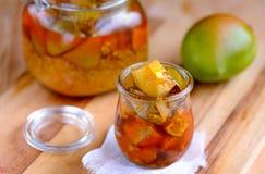 Соленье манго стоковые изображения