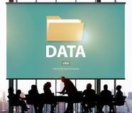 Содержание индекса файлов детализирует концепцию архивов документа Стоковые Изображения