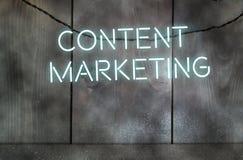 Содержимый маркетинг стоковые фото