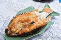Сол-зажаренные рыбы Стоковые Изображения