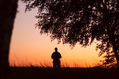 Солитарный человек Стоковая Фотография RF