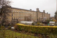 Соли филируют, Saltaire, Shipley, Западное Йоркшир, Англия Стоковое Фото