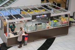 Со-крутой фронт магазина чая Smoothie & пузыря стоковые фотографии rf