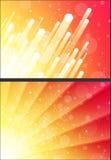 Солнечная желтая предпосылка яркого блеска иллюстрация вектора