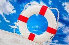 Солнечная концепция праздников с голубым небом Стоковая Фотография RF