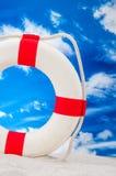Солнечная концепция праздников с голубым небом Стоковые Изображения