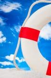 Солнечная концепция праздников с голубым небом Стоковое Изображение