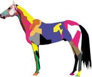 Солнечная лошадь Стоковое фото RF