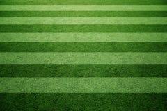 Солнечная предпосылка диаграммы поля травы футбола Стоковое Изображение