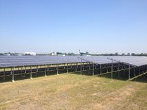 Солнечная ферма Стоковое Фото