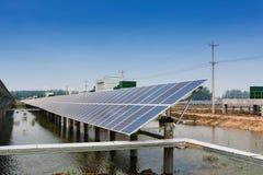 Солнечная энергия Стоковые Фотографии RF