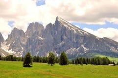 солнечний свет ряда горы состава естественный Стоковое Изображение