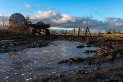солнечное ландшафта сельское Стоковые Фотографии RF