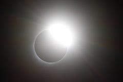 Солнечное затмение 21-ое августа 2017 Стоковые Фото