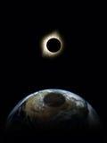 Солнечное затмение бесплатная иллюстрация