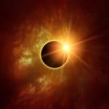 Солнечное затмение Стоковые Фотографии RF
