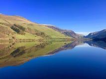 Солнечное озеро Уэльс Welsh Стоковая Фотография RF