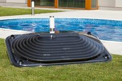 Солнечное топление воды Стоковая Фотография