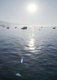 Солнечное утро в Санта-Барбара Стоковое Фото