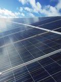 Солнечное электричество Стоковое фото RF